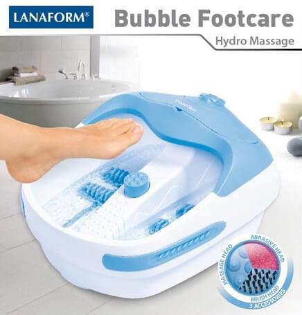 Bồn ngâm chân giữ âm nước kết hợp massage