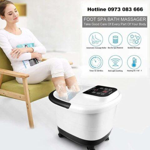Bồn ngâm chân giúp massage thư giãn tại nhà hiệu quả