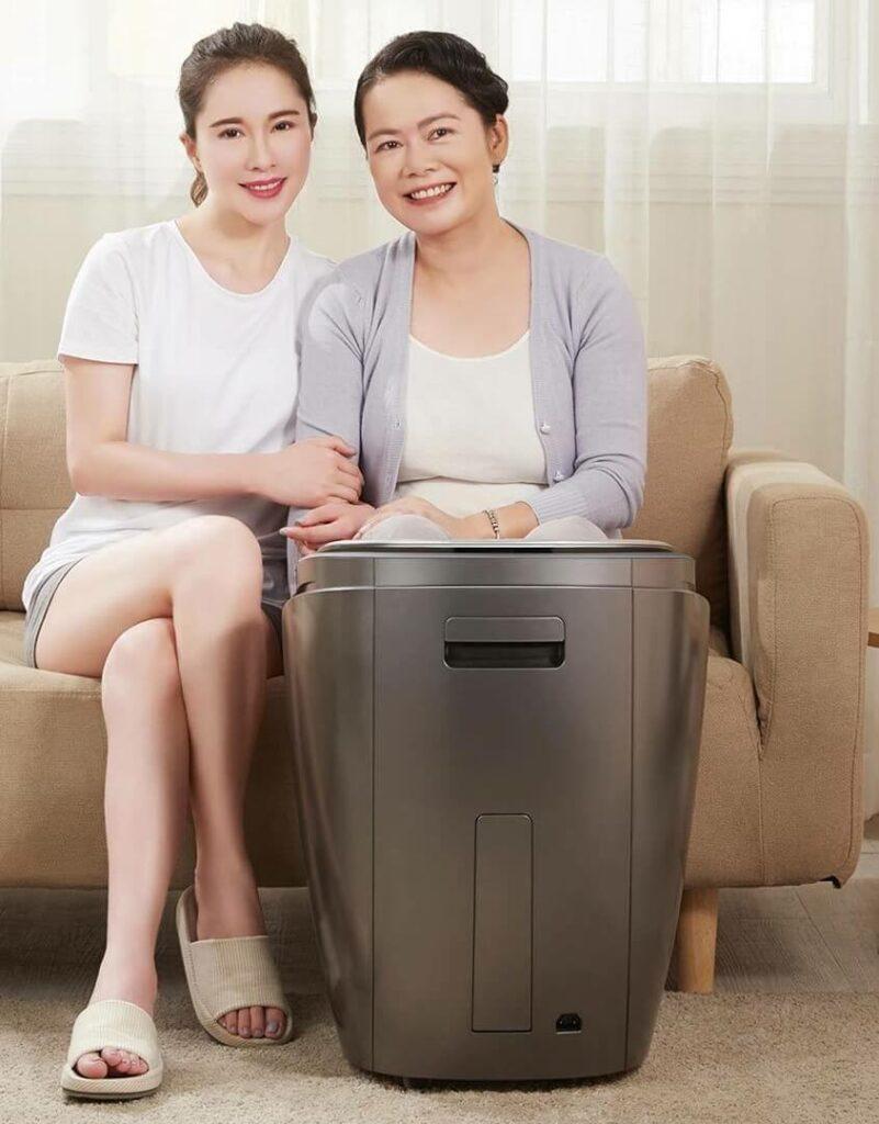 Máy ngâm chân massage rất tốt cho người cao tuổi