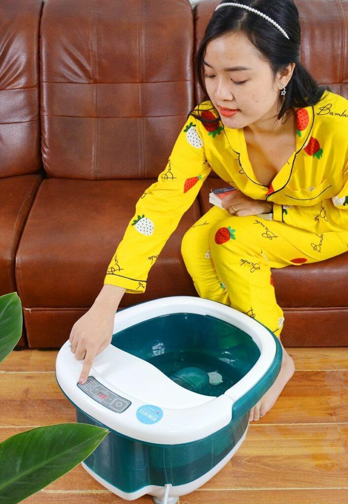 Bồn ngâm chân massage Homedics của Mỹ