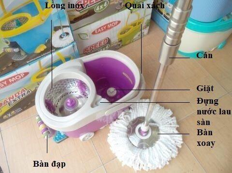 cay lau  nha easy mop thai lan